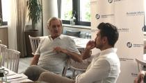 Armin Serwani im Gespräch mit Chris Fleischhauer
